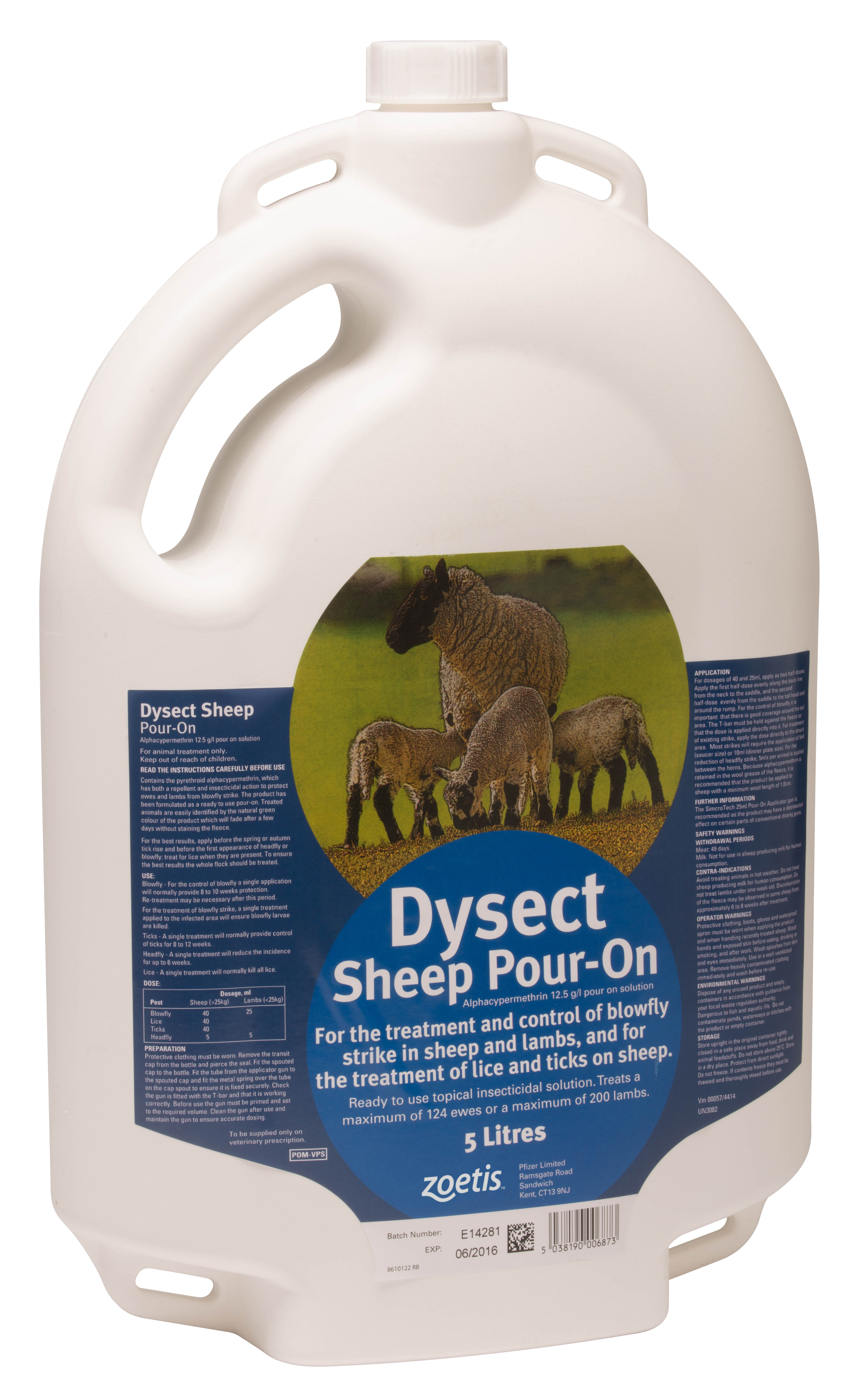 Sheep Lice: DYSECT
